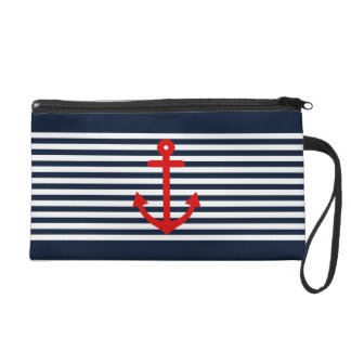 Navy Blue Nautical Wristlets