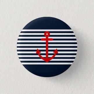Navy Blue Nautical Button