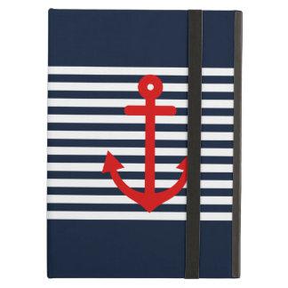 Navy Blue Nautical iPad Air Cover