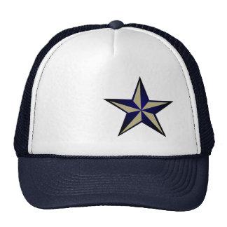 Navy Blue Nautical Star Trucker Hat