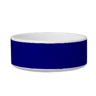 Navy Blue Pet Food Bowls