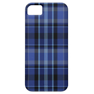 Navy Blue Plaid iPhone 5 Case-Mate