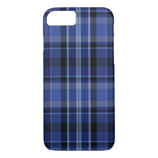 Navy Blue Plaid iPhone 7 iPhone 7 Case