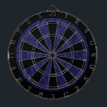 """Navy Blue Retro Crumpled Paper Dart Board<br><div class=""""desc"""">This is an awesome abstract art gift featuring a crumpled paper texture that looks awesome. This makes the perfect gift for any occasion.   Add your own wording,  name,  favorite saying,  favorite quotes,  etc. to personalize this even more by clicking on the blue CUSTOMIZE IT button.</div>"""
