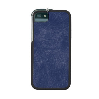 Navy blue Retro Grunge Scratched Texture Cover For iPhone 5