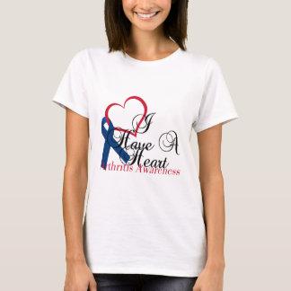 Navy Blue Ribbon Have A Heart Arthritis Awareness T-Shirt