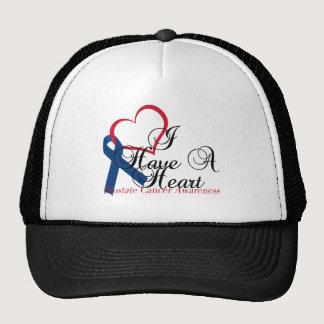 Navy Blue Ribbon Prostate Cancer Awareness Trucker Hat