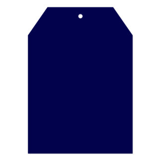 Navy Blue Solid Color Customize It Card