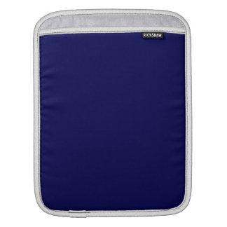 Navy Blue Solid Color iPad Sleeve
