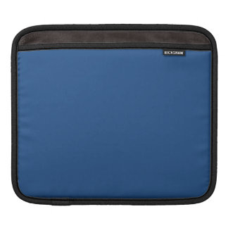 Navy Blue Solid Color iPad Sleeve
