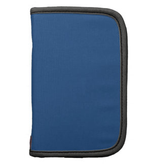 Navy Blue Solid Color Folio Planners