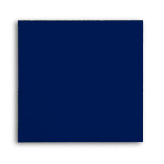 Navy Blue Square Envelopes