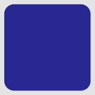 Navy Blue Square Stickers