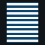 "Navy Blue Stripe Baby Scrapbook Paper<br><div class=""desc"">These adorable scrapbook papers are perfect for your next party or scrapbook project.</div>"