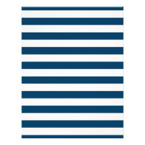 Navy Blue Stripe Baby Scrapbook Paper