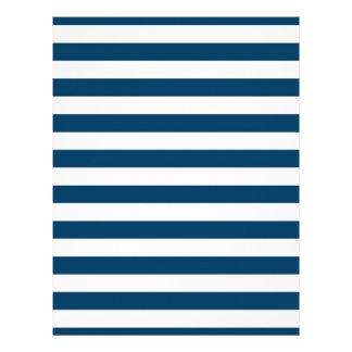 Navy Blue Stripe Baby Scrapbook Paper