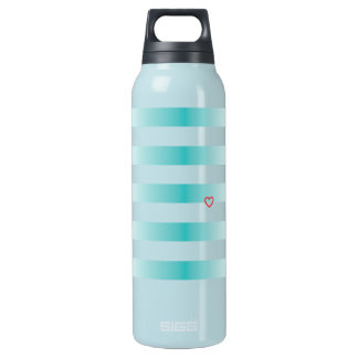 Navy Blue Stripes Liberty Bottle