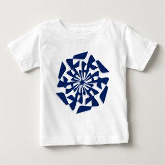 Navy Blue Stylized Star T-shirt