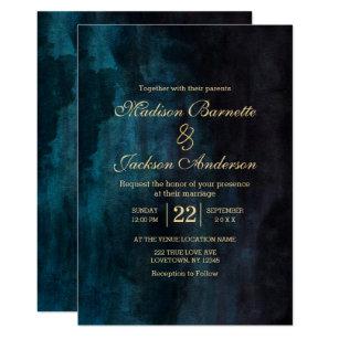 Teal Wedding Invitations | Teal Wedding Invitations Zazzle