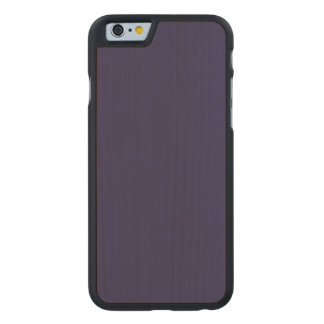 Navy Blue Template Carved® Maple iPhone 6 Slim Case