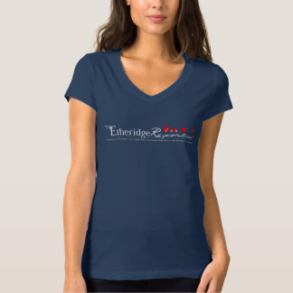Navy Blue - The Etheridge Report™ T-Shirt for Her