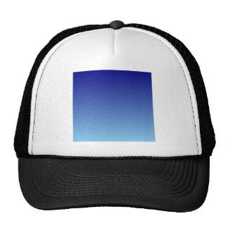 Navy Blue to Baby Blue Horizontal Gradient Trucker Hat