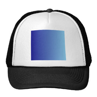Navy Blue to Baby Blue Vertical Gradient Hats