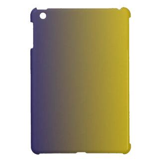 Navy Blue to Golden Yellow Vertical Gradient iPad Mini Cover