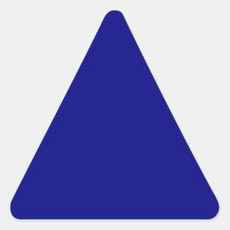 Navy Blue Triangle Sticker