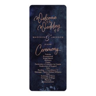 winter wedding program invitations announcements zazzle