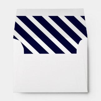 Diagonal Stripes Printed & Mailing Envelopes | Zazzle