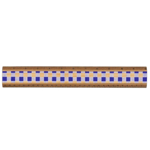 Navy Blue White Gingham Pattern