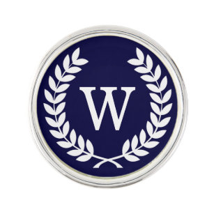 Relatively Monogram Lapel Pins | Zazzle CN16