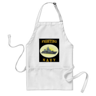 NAVY BOAT PEOPLE APRON
