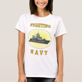 NAVY BOAT PEOPLE T-Shirt