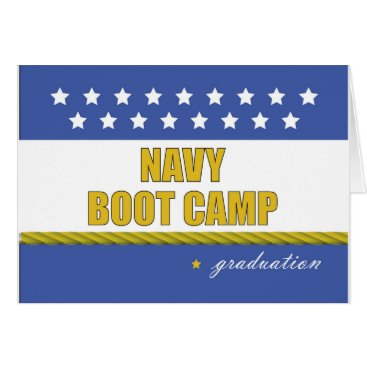 Navy Boot Camp Graduation Card