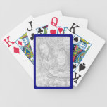 Navy Border for Photo Bicycle® Playing Cards Bicycle Playing Cards