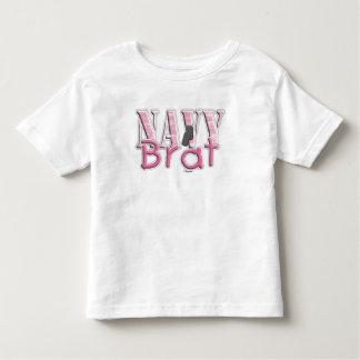 Navy Brat pink Toddler T-shirt