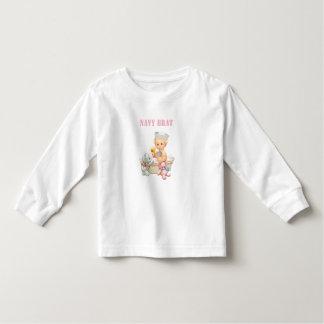 Navy Brat Toddler T-shirt