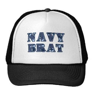 Navy brat trucker hat