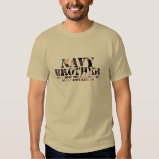 Navy Brother Answering Call T-Shirt