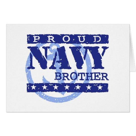 Navy Brother Card