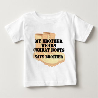 Navy Brother DCB Baby T-Shirt