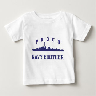 Navy Brother Infant T-shirt