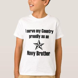 Navy Brother Serve T-Shirt