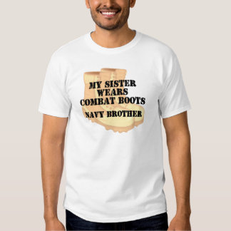 Navy Brother Sister DCB T-Shirt