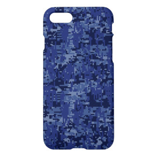 Navy Camo Background Ready to iPhone 8/7 Case