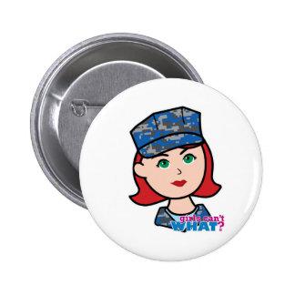Navy Camo Head Light Red Buttons