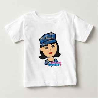 Navy Camo Head Medium Baby T-Shirt