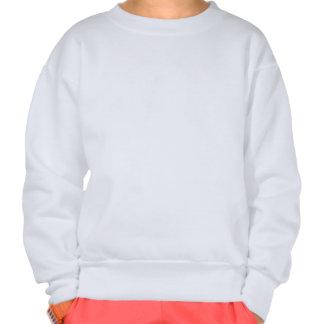 Navy Camo Head Medium Pullover Sweatshirt